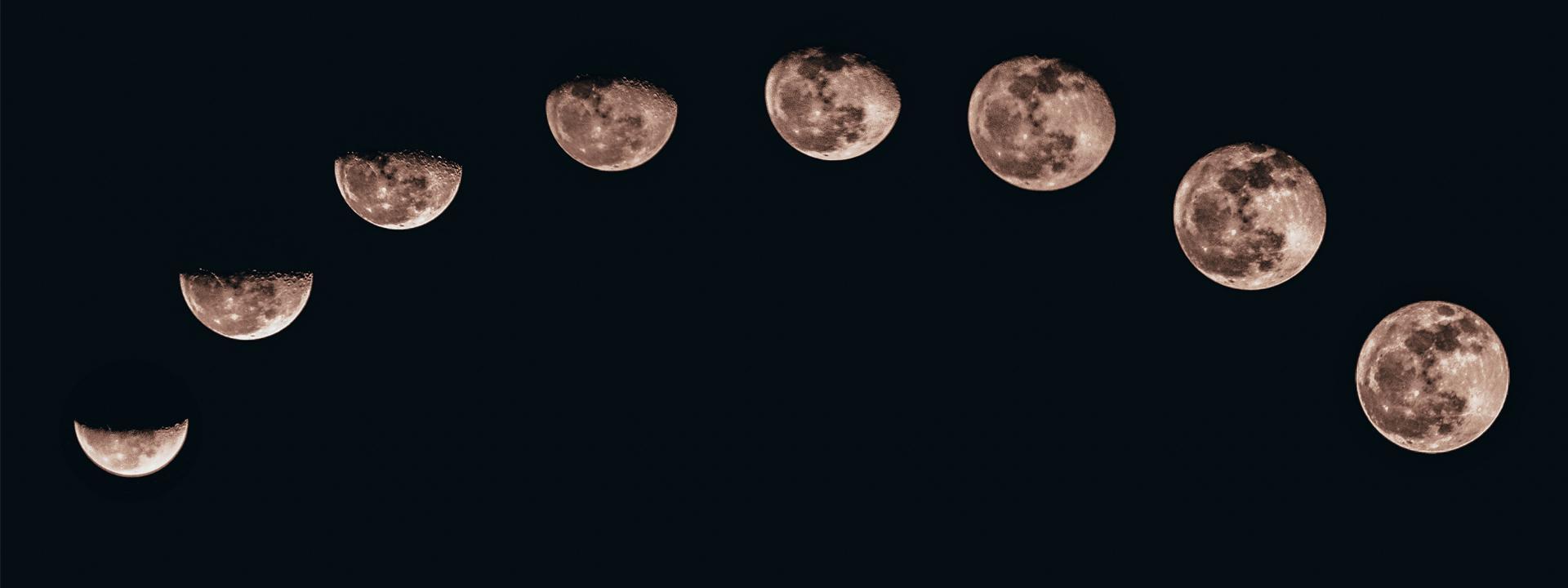 Calendario lunare: la luna e le fasi lunari   Allarme Meteo
